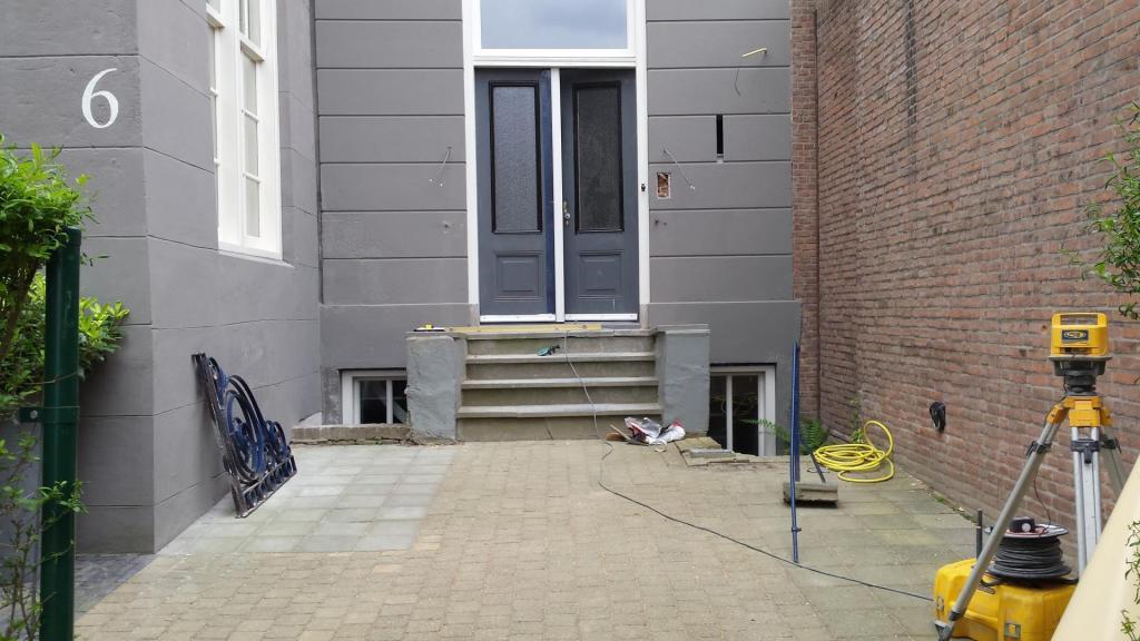 Renovatie trapopgang woning beenhakkertraas - Oude huis renovatie ...